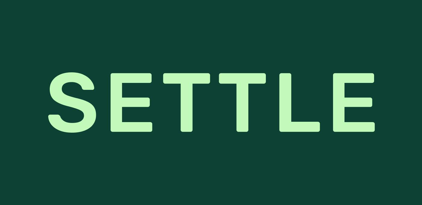 Settle logo