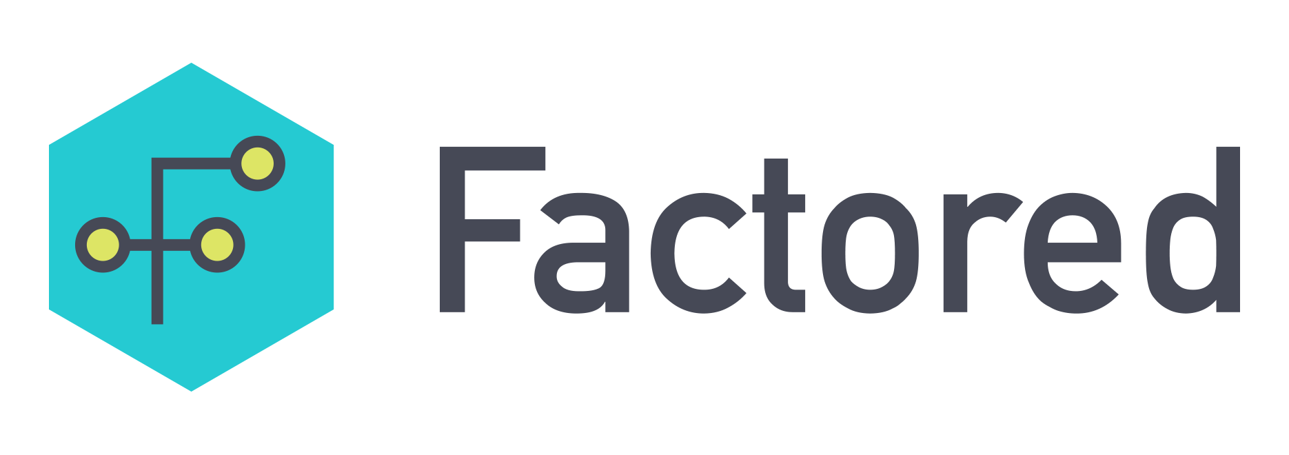 Factored logo