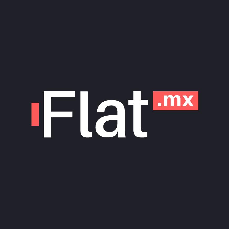 Flat.mx logo