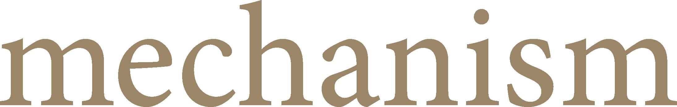 Mechanism logo