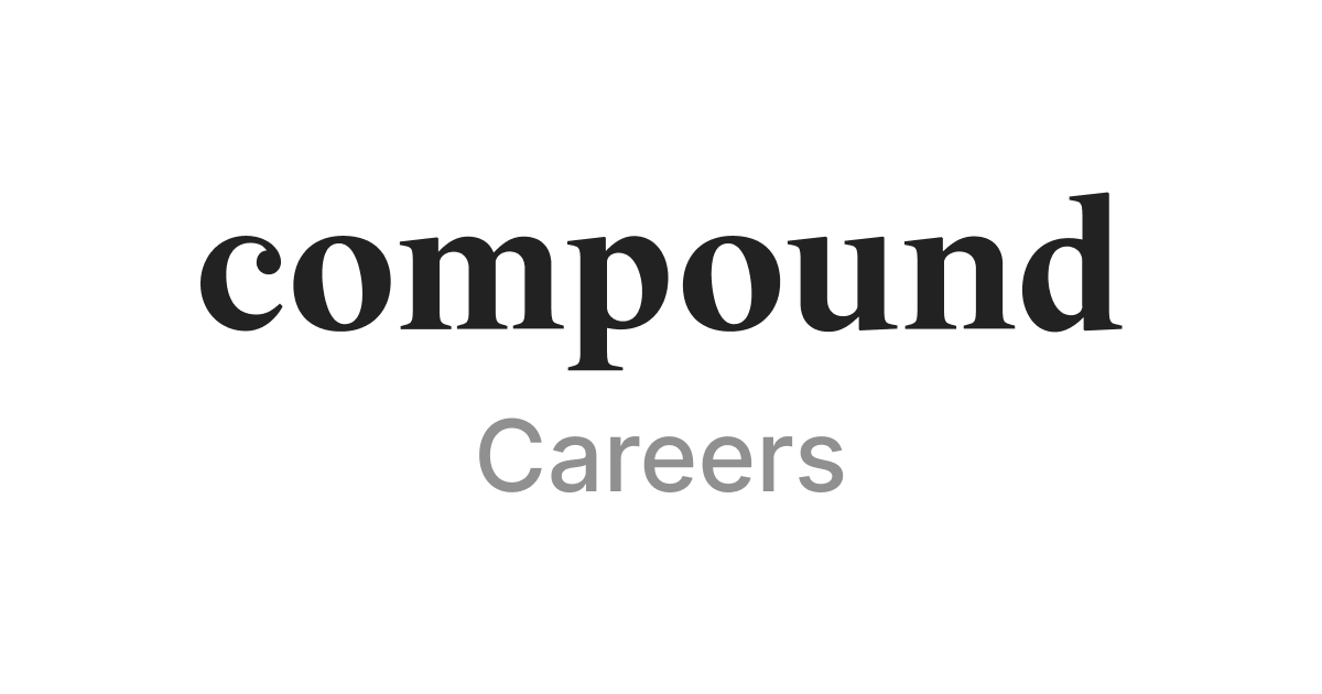 Compound (YC S19) is hiring to build financial products for startup employees thumbnail