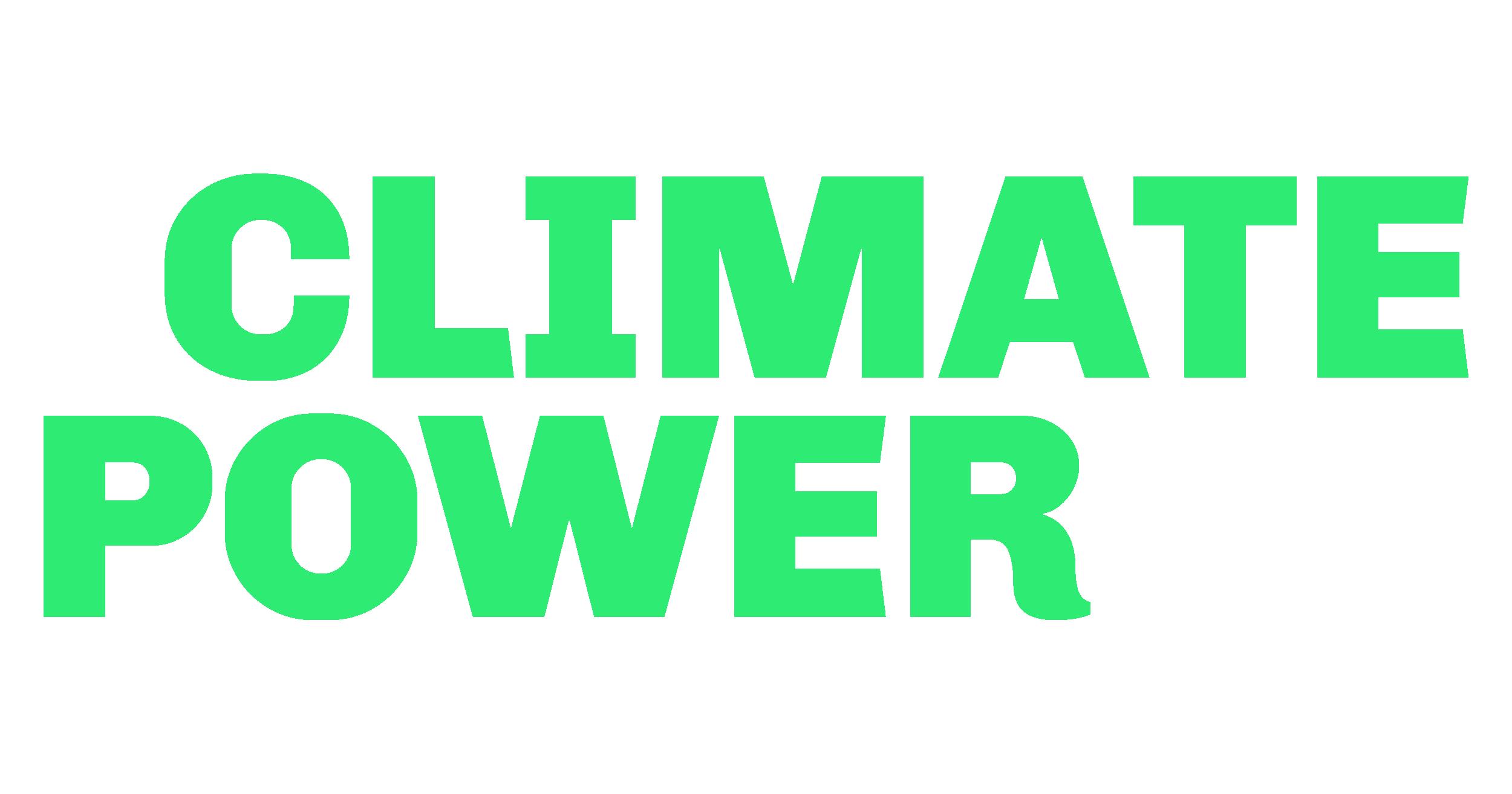 Climate Power logo