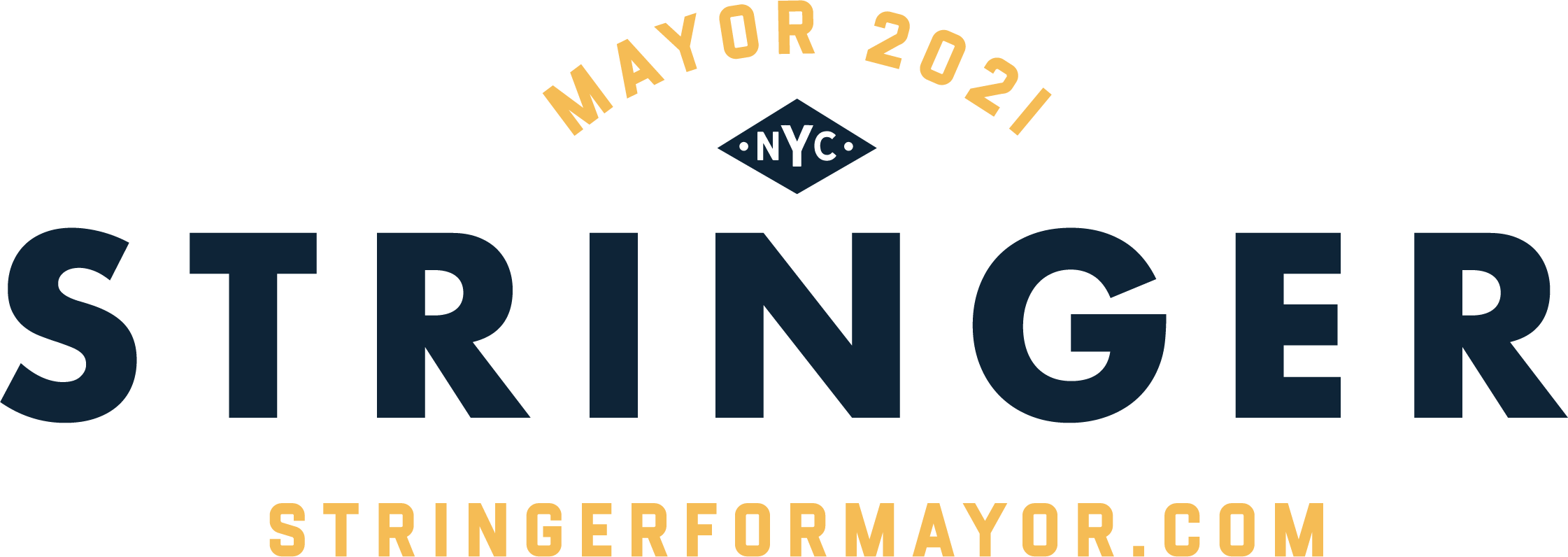 Stringer for Mayor logo